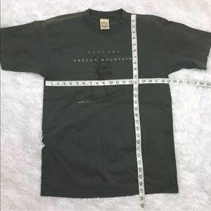 Suttons Sportswear Shirts - Explore Oregon Mountains Men's Souvenir Shirt M